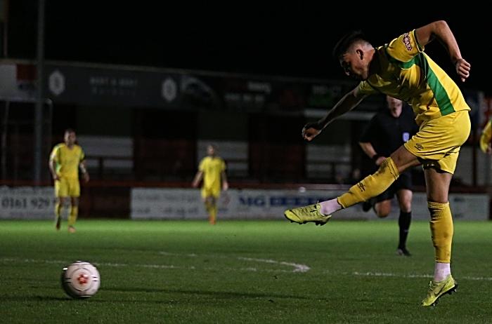 Second-half - fifth Nantwich goal - Callum Saunders (1)