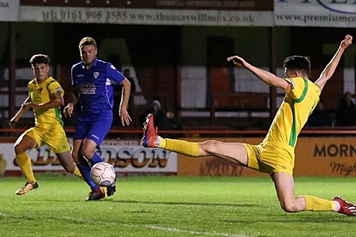 Second-half - fourth Nantwich goal - Joe Malkin (1)