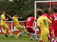Nantwich Town win inaugural Eddie Morris Memorial Trophy against Whitchurch