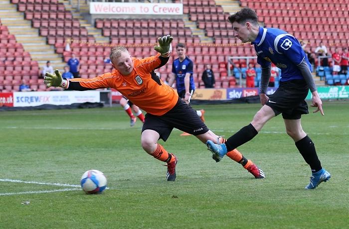 Second-half - third Alex Away Shirts goal - Gavin McKeith scores (1)