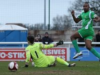 Ricardo Fuller helps fire Nantwich Town to 4-2 win over Stalybridge
