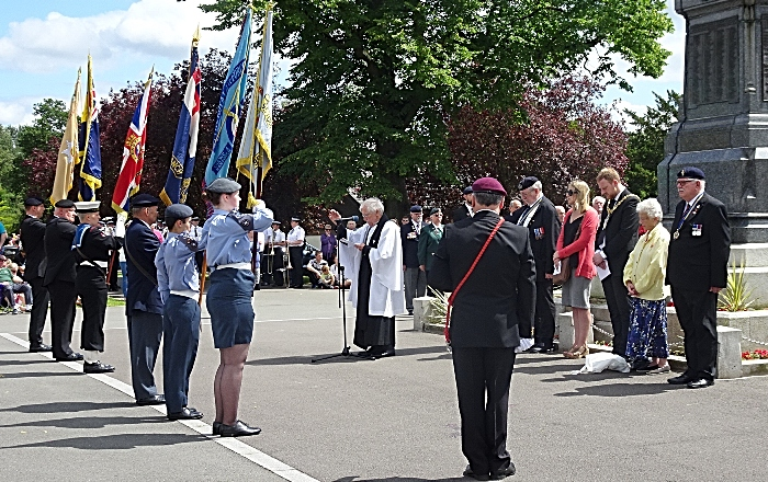 Service - led by Reverend Ken Sambrook (Padre Crewe Branch Royal British Legion) (2) (1)