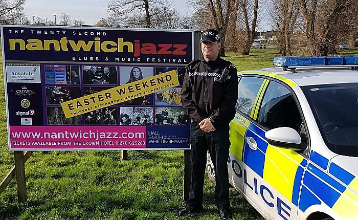 Sgt Ian Bennett, nantwich jazz police