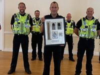 Nantwich police sergeant retires after 25 years with Cheshire Police