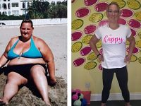 Mum lost staggering 24 stone using Nantwich gym after promise to parents