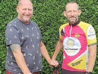 Audlem pilot to pedal 420 miles in aid of friend battling tumour