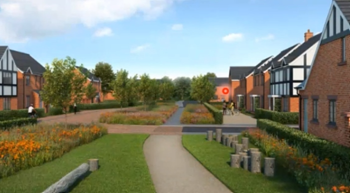 Shavington Triangle homes planning approval