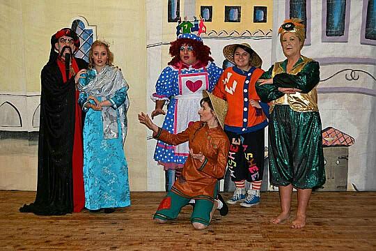 Aladdin - Shavington Village festival show 1