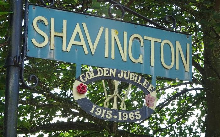 Shavington village sign (1)