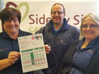 Nantwich care firm employees team up with Health Shield