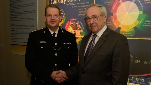 Cheshire Police's new Chief Constable unveiled