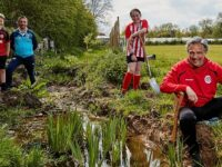 Cheshire Blade FC improves conservation area after donation