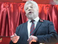 Simon Weston unveils new Crewe Heritage Centre memorial engine