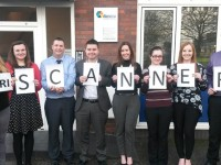 Accountants take on skydive in aid of MRI Scanner Appeal