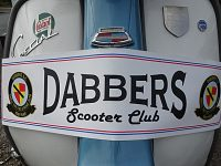 Scooter owners flock to Nantwich for Dabber Scooter Club event