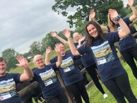 Farm shop staff tackle Snowdown challenge in memory of founder