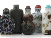 Chinese snuff bottles could fetch £25,000 in Nantwich sale