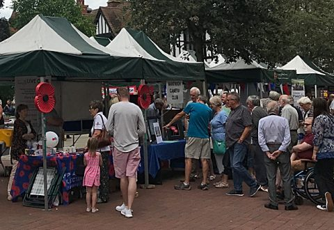 Hundreds visit Nantwich Societies Spectacular on town square