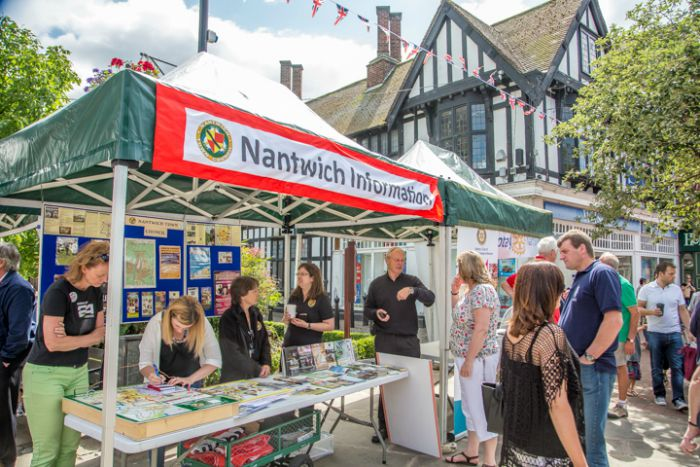 Societies Spectacular in Nantwich town square 2015 3