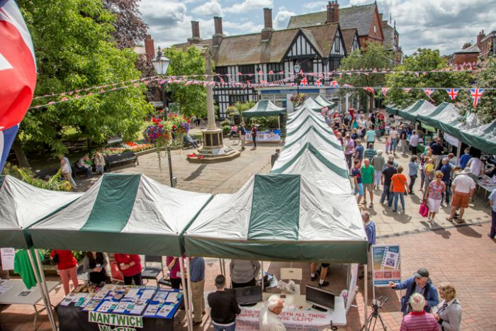 Societies Spectacular in Nantwich town square 2015 6