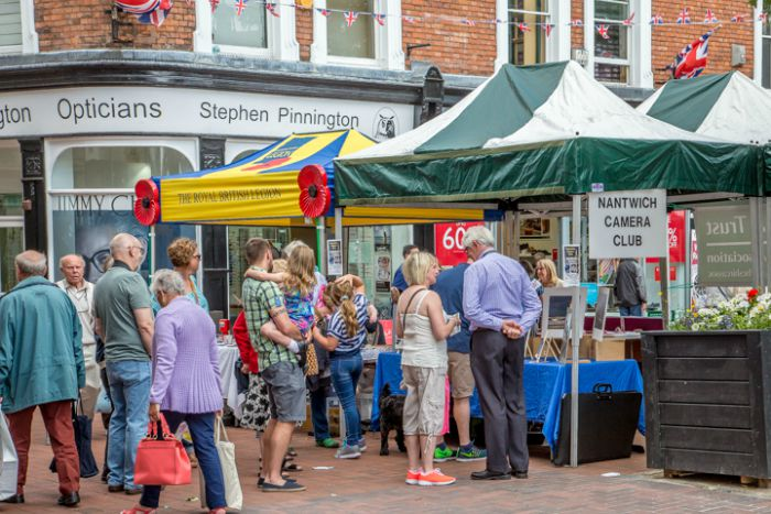 Societies Spectacular in Nantwich town square 2015 7