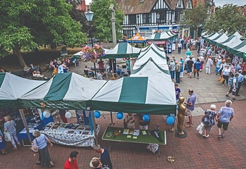 Nantwich town square to stage Societies Spectacular