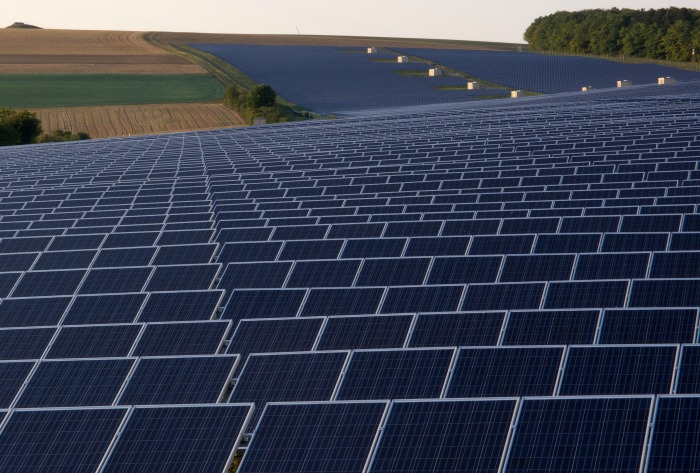 Solar Park, creative commons pic by OhWeh