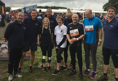 Hibberts solicitors in Nantwich get dirty to help raise charity funds