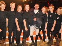 Reaseheath College students play starring role at Horse of the Year Show