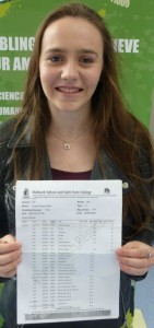 Sophie Smith celebrating her fab GCSE results (1)