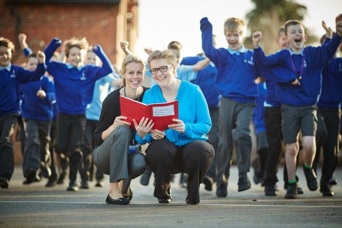 Sound Primary School celebrate SATS ranking