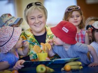Nantwich nursery youngsters celebrate summer as winter set to hit