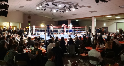 South Cheshire ABC boxing night, Nantwich Civic Hall