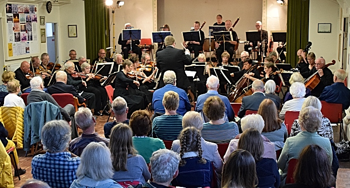 South Cheshire Orchestra perform at the concert (1)