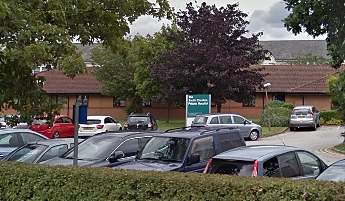 South Cheshire Private Hospital - pic by Google Street View