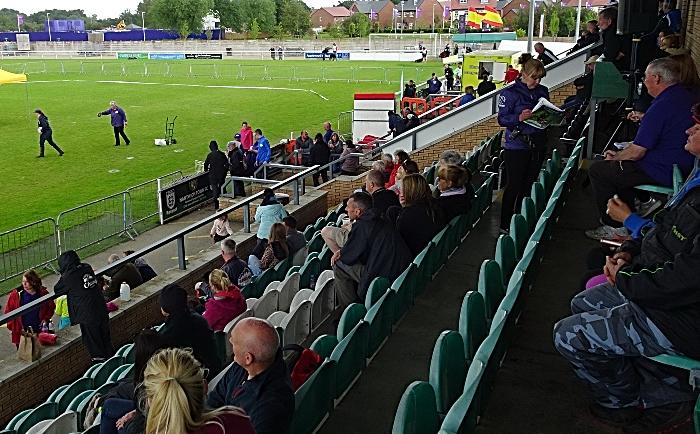 Spectators in the Baker Wynne & Wilson Stand (1)