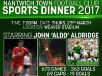Former Liverpool star John Aldridge guest at Nantwich Town event