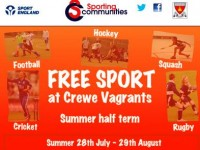 Free Sport England sessions to run at Crewe Vagrants