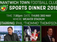 Former Liverpool star Phil Thompson to speak at Nantwich Town sports dinner