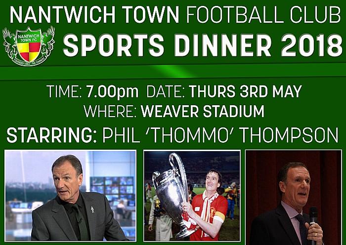Sports Dinner Phil Thompson