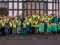 Nantwich residents rise to challenge at Great British spring clean