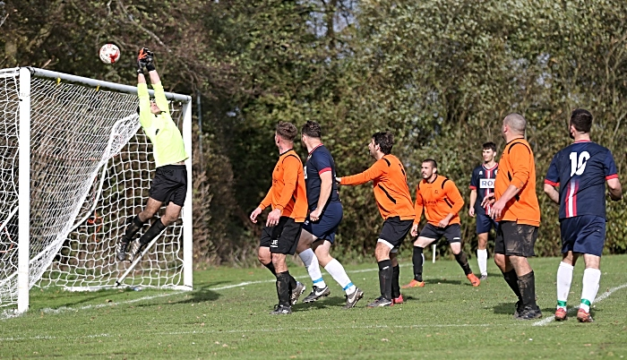 Square One keeper tips the ball over his goal (1)
