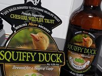 Cheshire Wildlife Trust launches new beer called Squiffy Duck!
