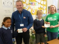 Nantwich pupils raise £2,400 for hospice and Macmillan Cancer