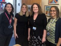 St Anne's School in Nantwich hosts visit from MP Laura Smith