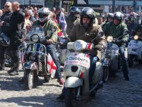 Nantwich motorcyclists join 450 at Sandbach Transport Festival