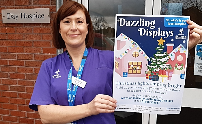St Luke's Hospice Dazzling Displays - light up for Christmas