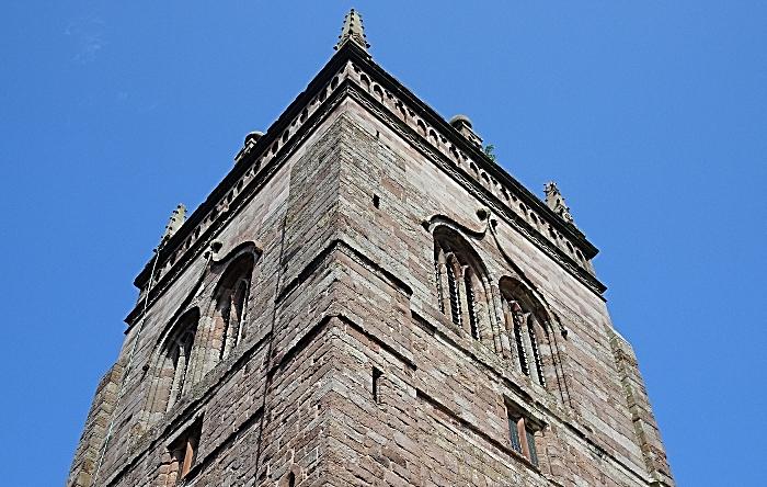 St Mary's Church, Acton - church tower (1)