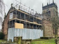 St Mary's Church in Acton receives parapet renovation