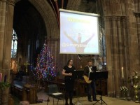 St Mary's Church Nantwich holds popular Crib Service
